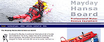 Mayday Hansa Rescue Board website